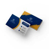 طرح لایه باز کارت ویزیت شرکتی کد 1