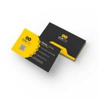 طرح لایه باز کارت ویزیت شرکتی کد 4