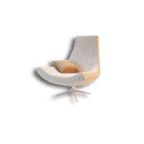 دانلود رایگان آبجکت صندلی اداری سفید تری دی مکس 3d