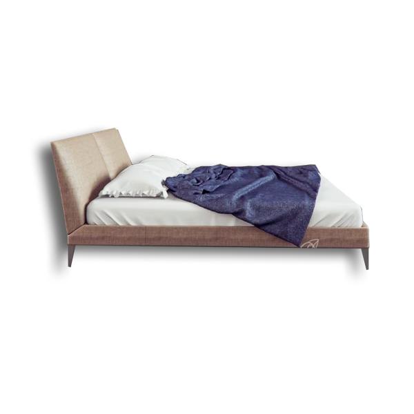 دانلود رایگان آبجکت تخت خواب دو نفره کلاسیک ۳d max
