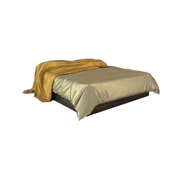 دانلود رایگان آبجکت تخت خواب دو نفره مدرن ۳dmax