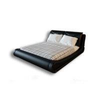 دانلود رایگان آبجکت تخت خواب دو نفره چرمی ۳dmax