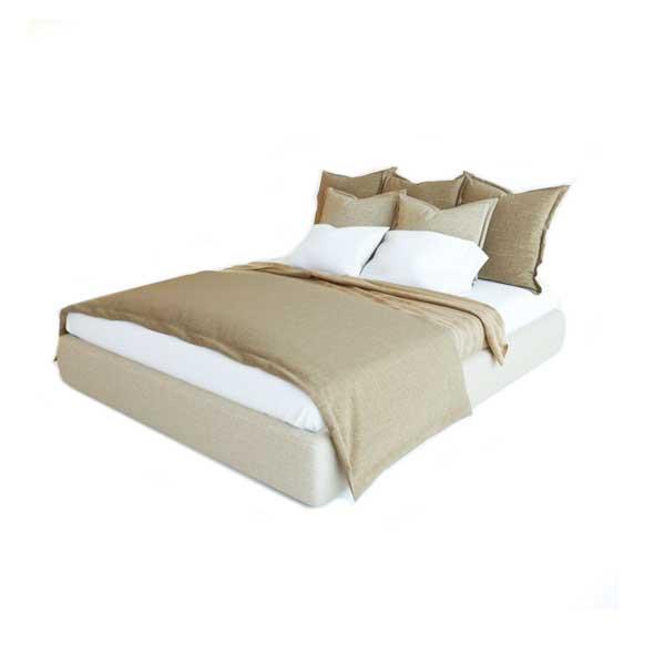 دانلود رایگان آبجکت تخت خواب دو نفره ۳dmax کد 18