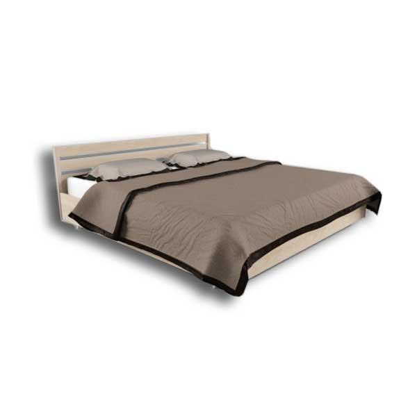 دانلود رایگان آبجکت تخت خواب دو نفره ۳dmax حجیم کد 22