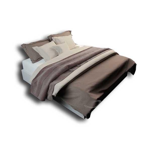 دانلود رایگان آبجکت تخت خواب دو نفره ۳dmax کد 25