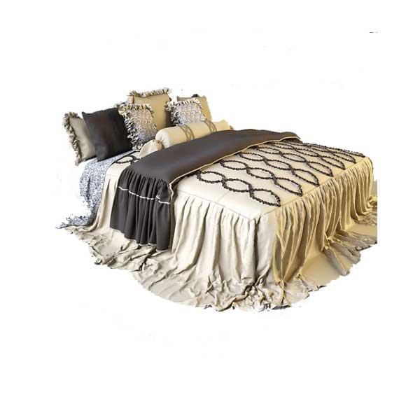 دانلود رایگان آبجکت تخت خواب ۲ نفره ۳dmax سلطنتی کد 34
