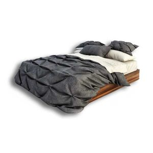 دانلود رایگان آبجکت تخت خواب ۲ نفره ۳dmax زیرچوبی کد ۳۶