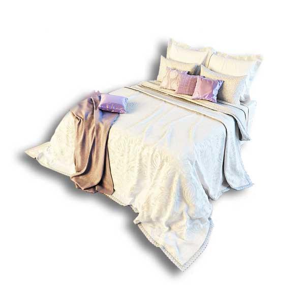 دانلود رایگان آبجکت تخت خواب ۲ نفره مدرن ۳dmax کد 41