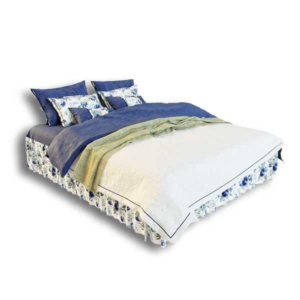 دانلود رایگان آبجکت تخت خواب ۲ نفره ۳dmax کد 43