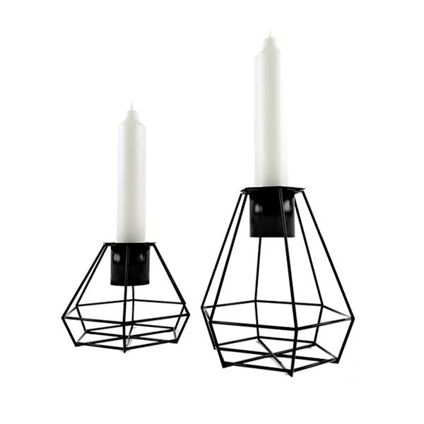 free 3d model candle stick