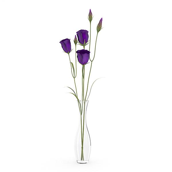 free 3d model flower 13