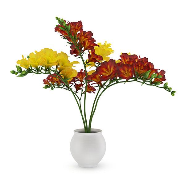 دانلود مدل سه بعدی گلدان