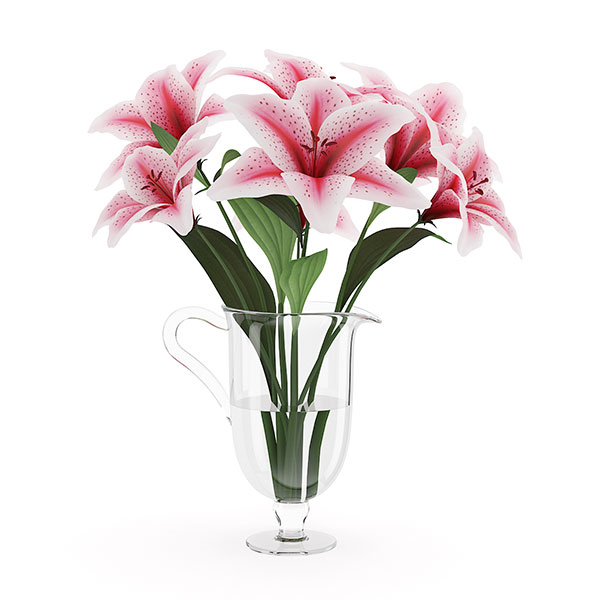 free 3d model flower 19