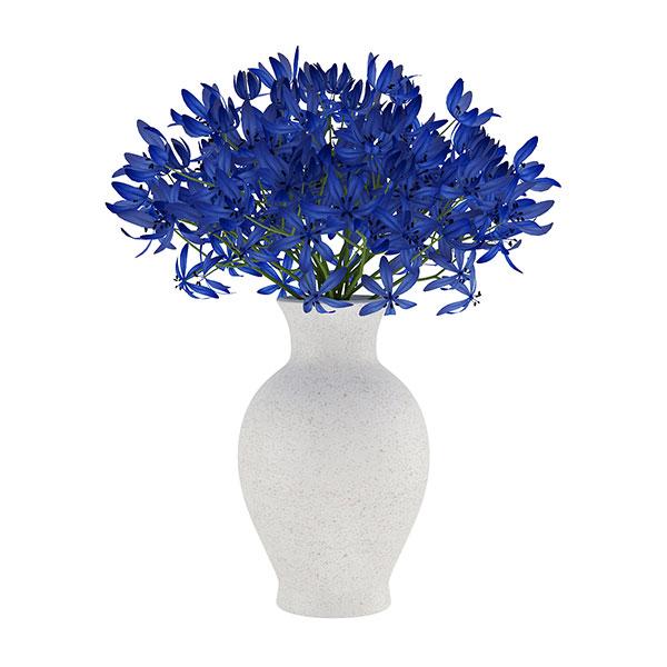 دانلود رایگان مدل سه بعدی گلدان رومیزی 3dmax کد 2