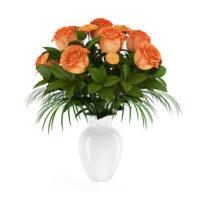 دانلود رایگان مدل سه بعدی گلدان 6