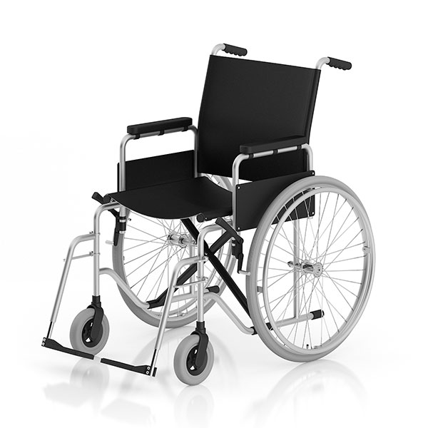 wheelchair 3dmax object