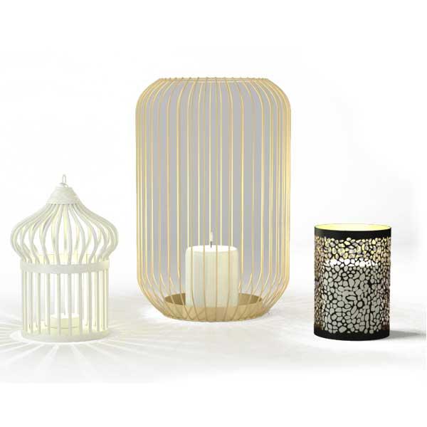 دانلود رایگان مدل سه بعدی شمعدان دکوراتیو