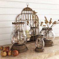 دانلود آبجکت ست دکوری شمع و آینه
